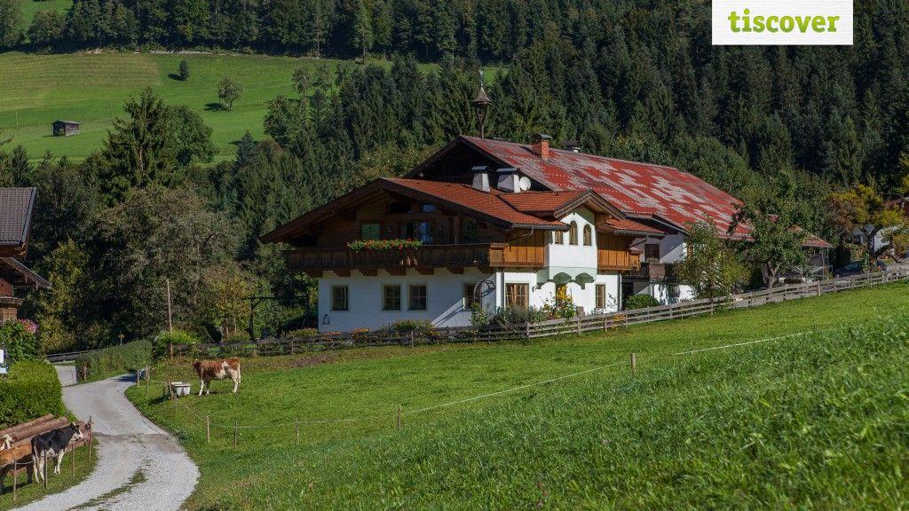 Aussenansicht im Sommer - Ferienwohnung am Bauernhof - Oberhaslachhof Reith im Alpbachtal