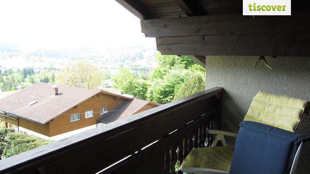 Terrasse im Winter, Ferienwohnung Ferienwohnung Dachgeschoß