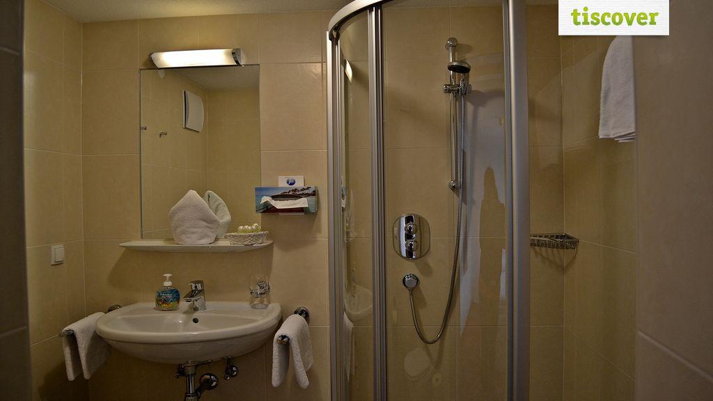 Badezimmer im Winter
