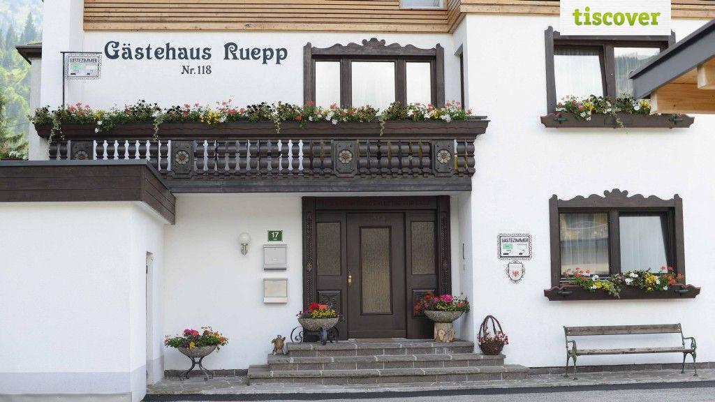 Aussenansicht im Sommer - Haus Ruepp Tannheim
