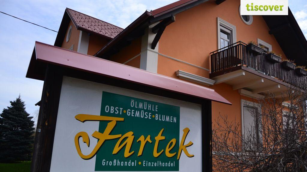 Aussenansicht im Sommer - Ferienwohnungen Fartek Minihof-Liebau