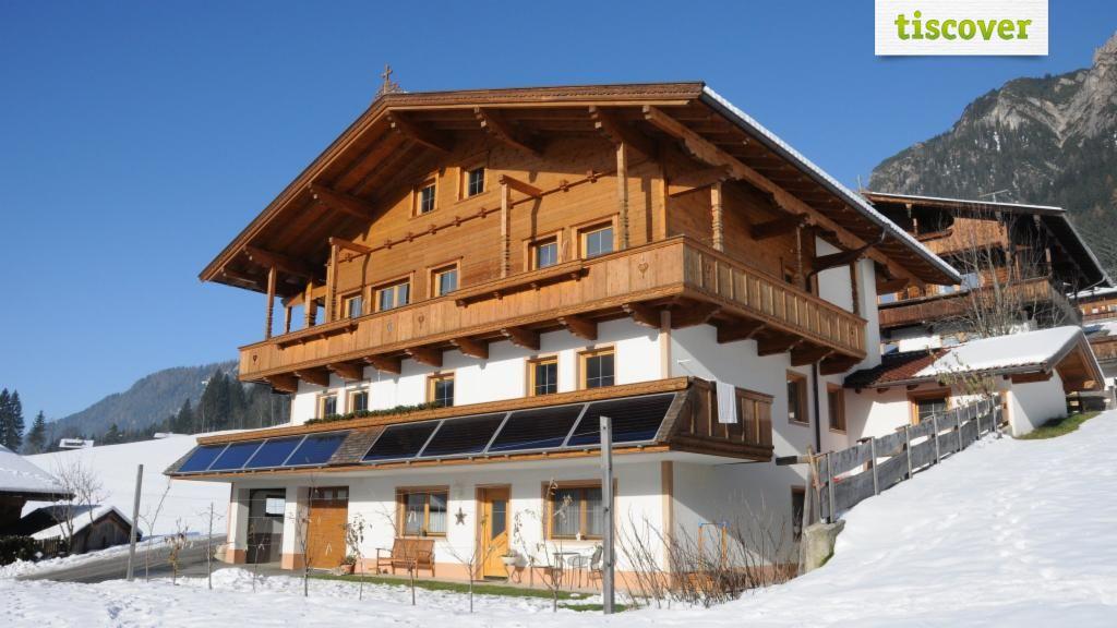 Aussenansicht im Winter - Appartement Leirerfeld Alpbach