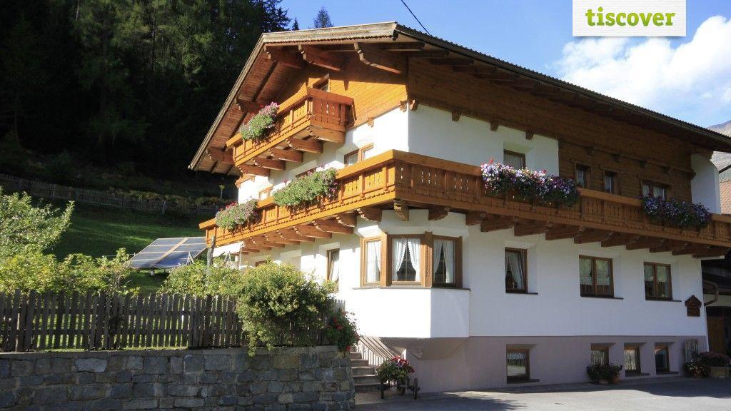 Aussenansicht im Sommer - Ferien Hofmann Kaunertal