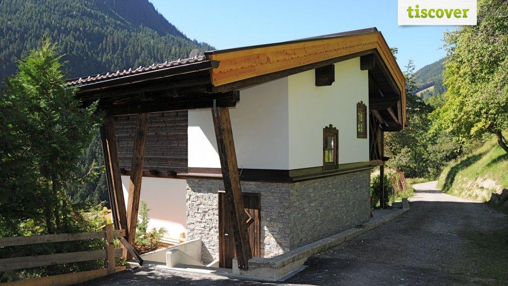 Aussenansicht im Sommer - Bauernhaus Korum und Zirbenhaeusl Korum Fuegen