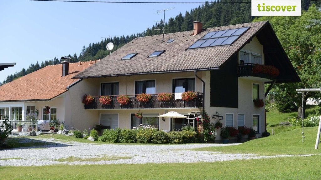 Aussenansicht im Sommer - Haus Erd Jungholz