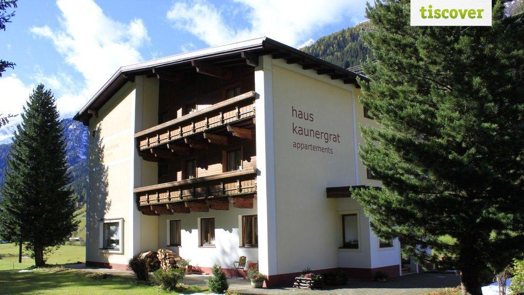 Aussenansicht im Sommer - Haus Kaunergrat Kaunertal