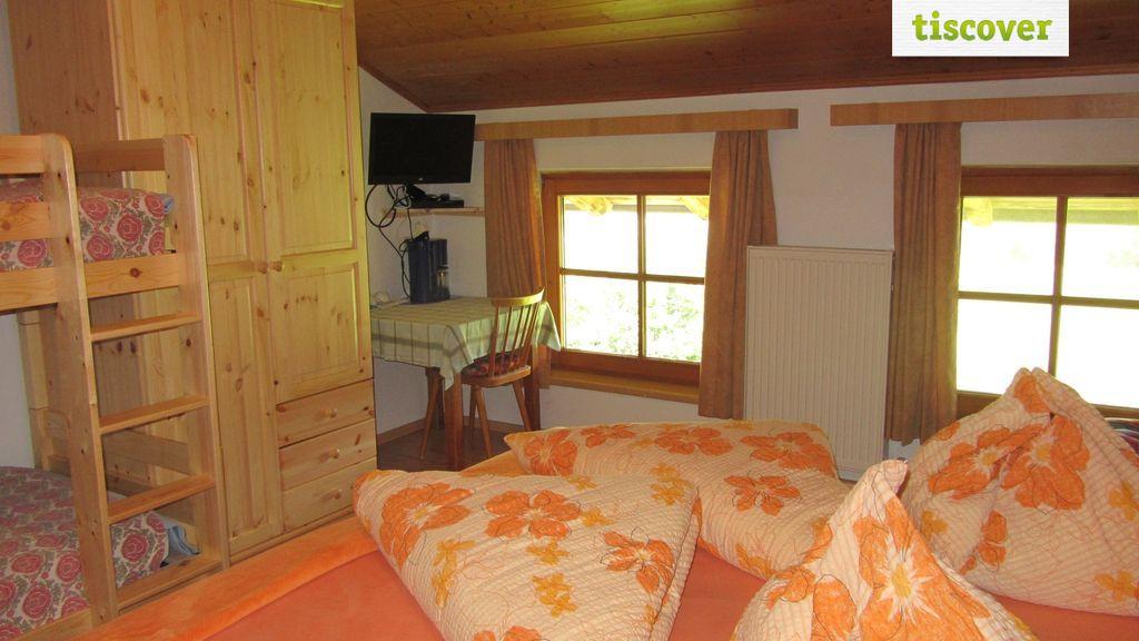 Vierbettzimmer im Sommer