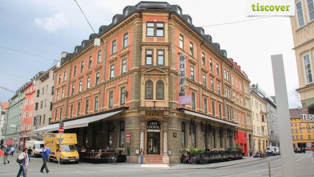 Aussenansicht im Sommer - Hotel Central Innsbruck Innsbruck
