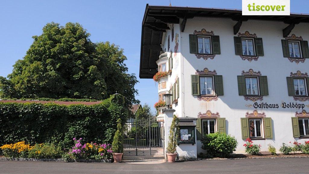 Aussenansicht im Sommer - Ferienhaus Gut Voldoepperwirt Kramsach