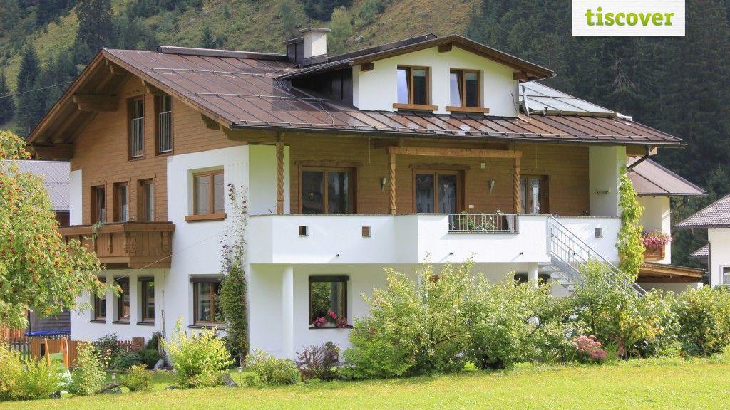 Aussenansicht im Sommer - Larcher Bauernhof Kaunertal
