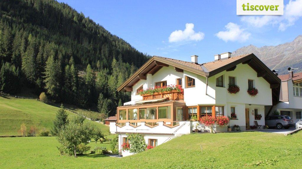 Aussenansicht im Sommer - Ferienwohnung Lentsch Kaunertal