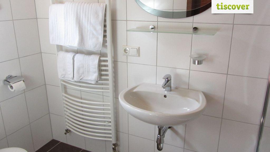 Badezimmer im Winter, Ferienwohnung Ferienwohnung 2-5 Personen