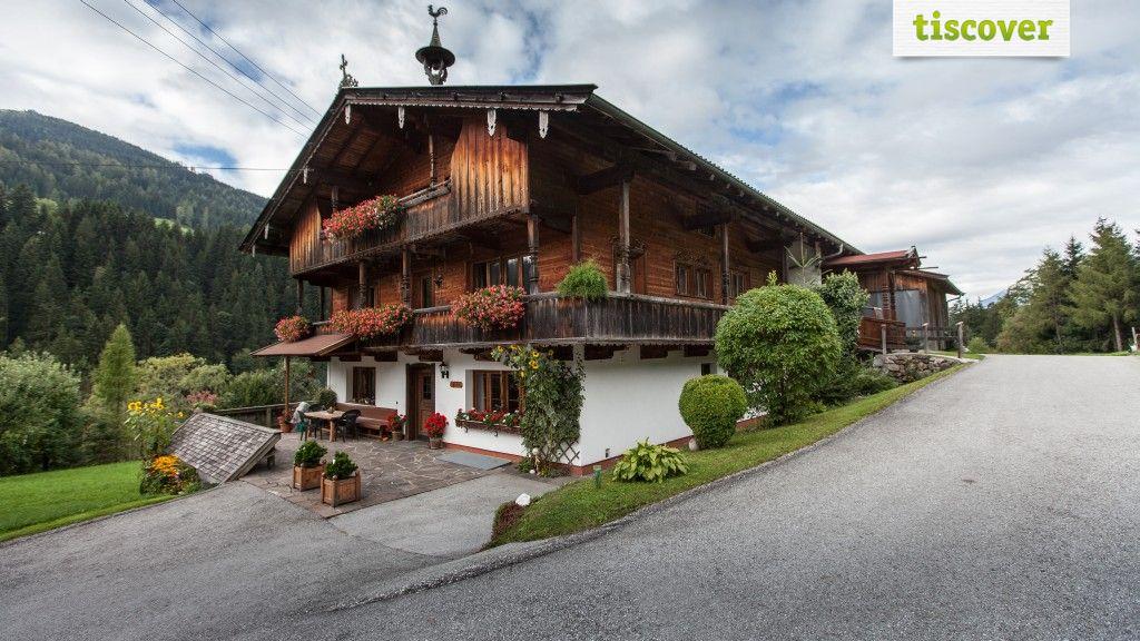 Aussenansicht im Sommer - Bauernhof Untererlbach Alpbach