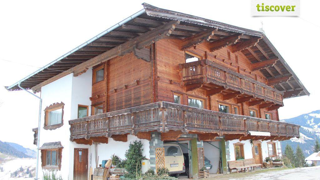 Aussenansicht im Winter - Schuerzberghof - Appartements - Wildschoenau - Tirol Wildschoenau