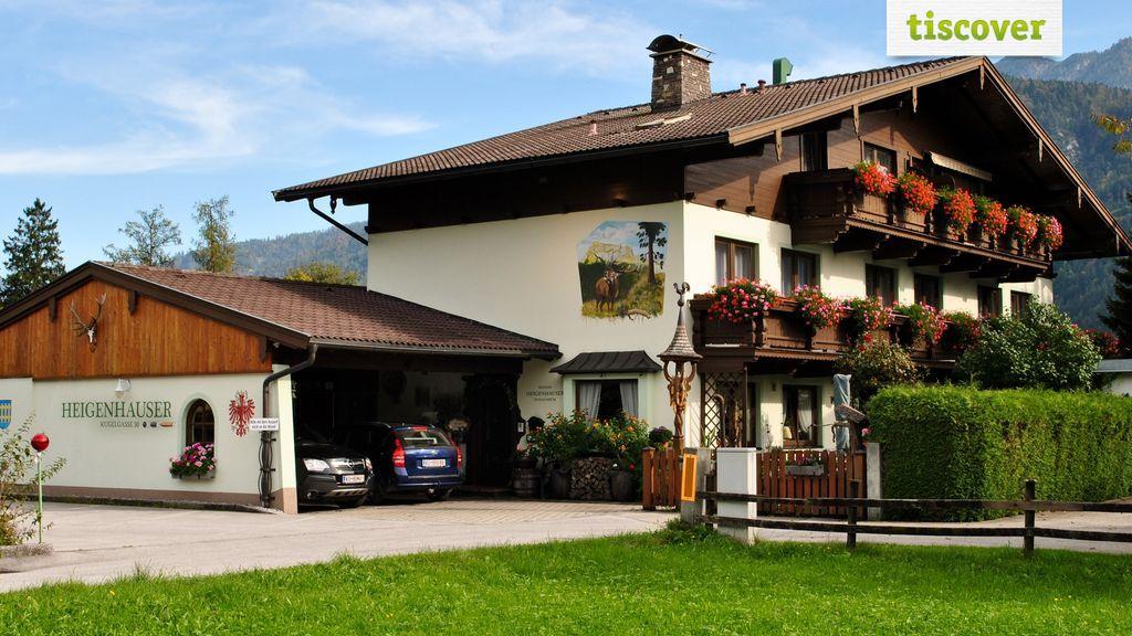 Aussenansicht im Sommer, Pension Gästehaus Heigenhauser