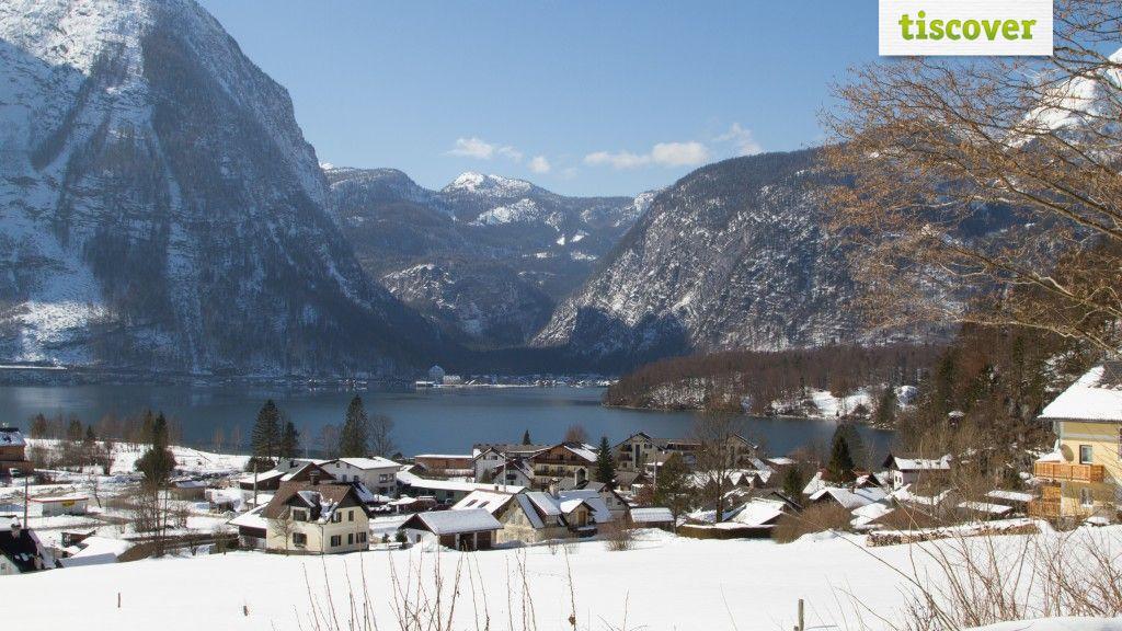 OBERTRAUN am Hallstättersee im Winter - Obertraun Oberoesterreich