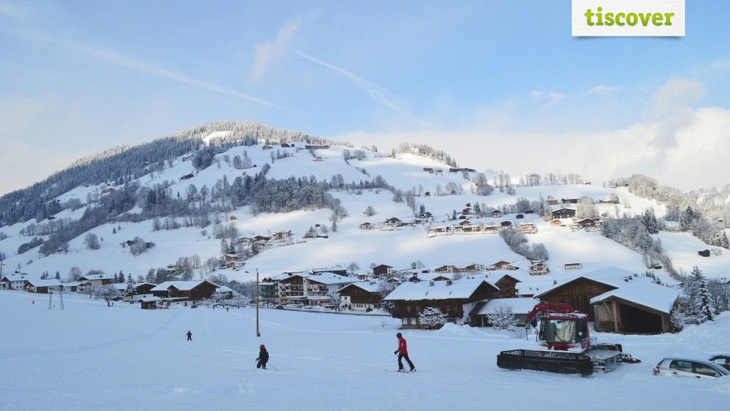 Wildschönau Tirol amid the Kitzbühel Alps In winter - Wildschoenau Tirol
