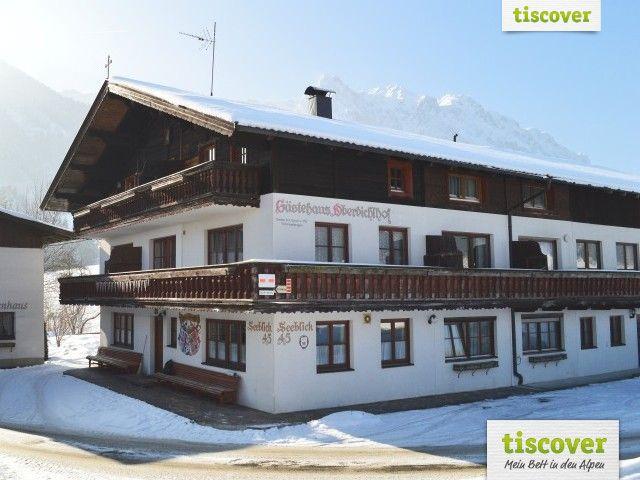 Aussenansicht im Winter - Oberbichlhof Walchsee
