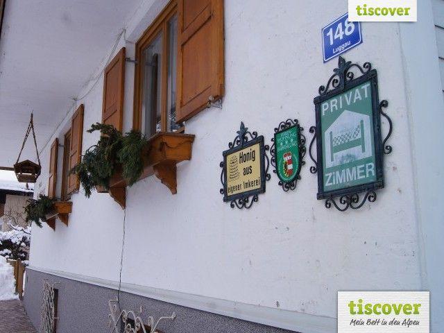 Aussenansicht im Winter - Haus Gamskarblick Dorfgastein