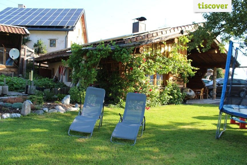 View from outside In summer - Erlebnis Kinder Bauernhof - Tobadillerhof Pitztal Wenns im Pitztal